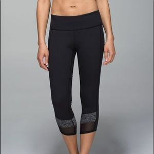 Lululemon If You're Lucky Crop *Full-On Luxtreme 6